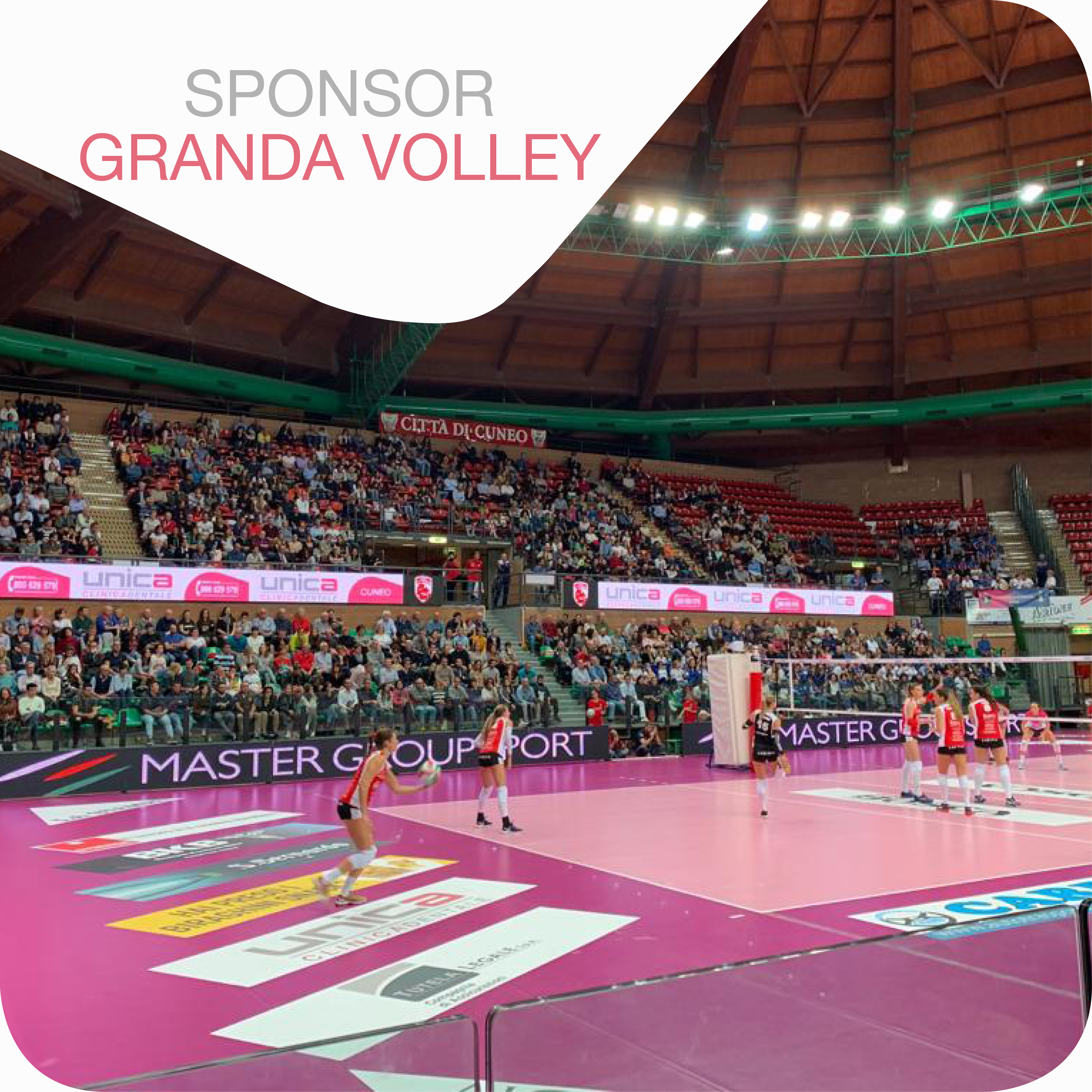 Unica Clinica Dentale sponsor Granda Volley