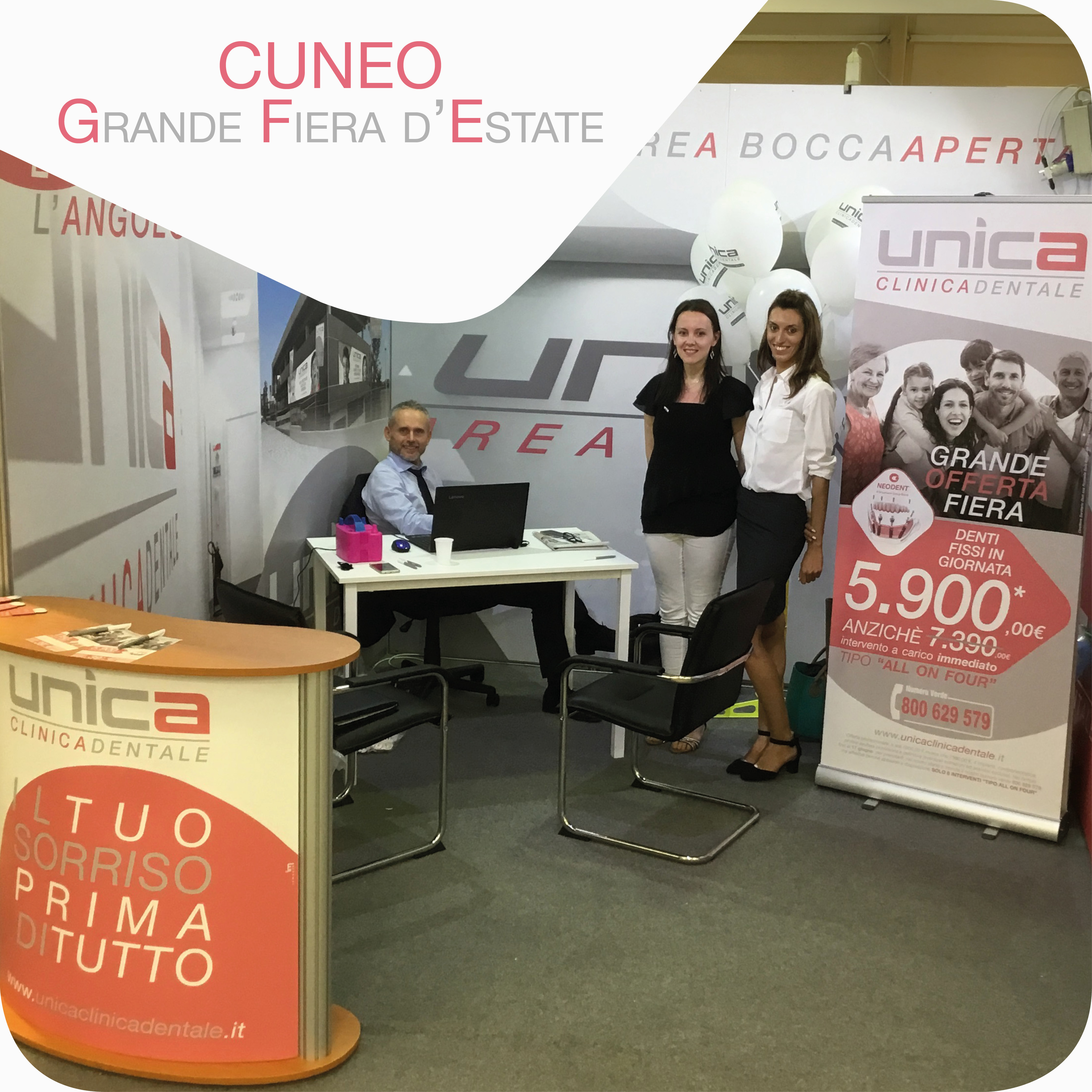 Unica alla Grande Fiera D'estate a Cuneo